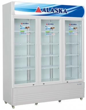Tủ mát Alaska SL-15C3 1400 lít dàn đồng 3 cửa model 2020