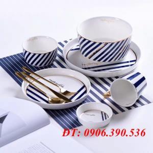 Tấm lót bàn ăn, lót ly, chén dĩa đẹp, sang các loại