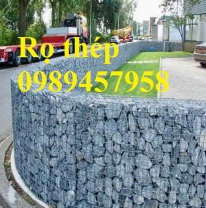 Lưới thép hàn làm rọ đá, Rọ đá trang trí, Lưới thép Rọ đá