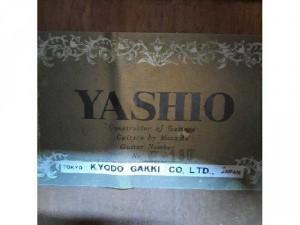 Đàn guitar Yashio thương hiệu củanhật