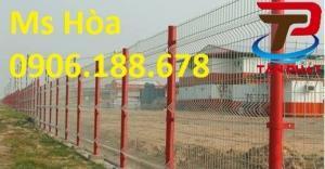 Hàng rào lưới thép, lưới hàng rào, hàng rào lưới thép haàn