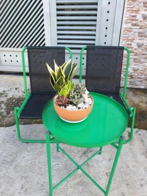 Bàn ghế trà chanh giá rẻ Hoàng Trung Tín HTT1111