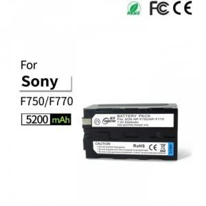 Pin máy quay NP-F770 camera photography LED cho máy quay F series