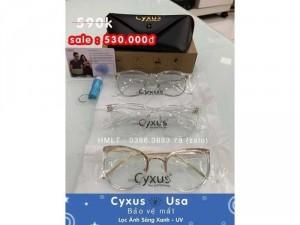 Chuyên kính Cyxus Usa lọc ánh sáng xanh , UV bảo vệ mắt