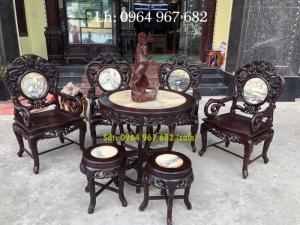 Bộ bàn ghế phòng khách bàn ghế đẹp Bộ bàn ghế trúc dưa