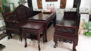 Bộ bàn ghế phòng khách bàn ghế đẹp Bàn ghế trường kỷ cổ đồ