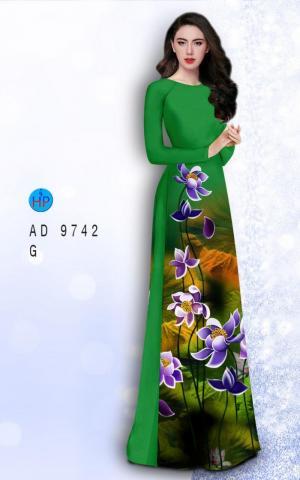 Vải áo dài lụa đông hưng 9742