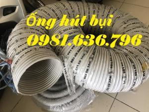 Giá ống hút bụi gân nhựa DN300
