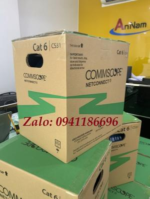 Cáp mạng CommScope Cat6 UTP mã 1427254-6, sẵn số lượng