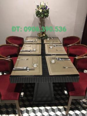 Tấm lót bàn ăn phong cách châu âu