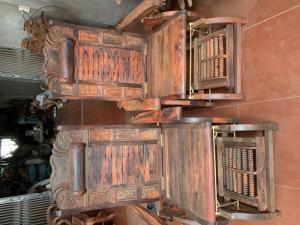 Ghế đu đưa gỗ Trắc
