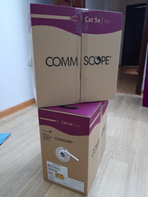 Cáp mạng Cat5e Commscope chính hãng chuyên cấp dự án giá rẻ tại Hà Nội