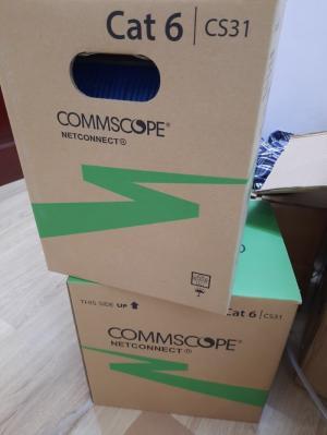 Phân Phối cáp mạng Cat6 Commscope chính hãng giá rẻ uy tín tại Hà Nội