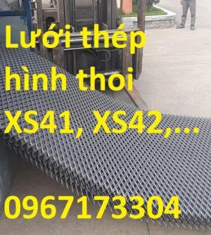 Lưới thép dập giãn XS41, XS42, XS43,.... nguyên liệu nhập khẩu giá rẻ