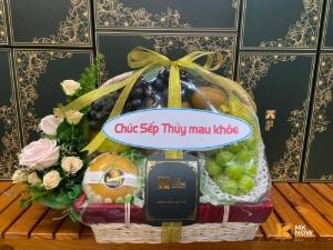 Giỏ quà tặng sức khỏe cho sếp - FSNK179