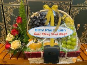 Giỏ quà chúc mừng sinh nhật khách hàng - FSNK180