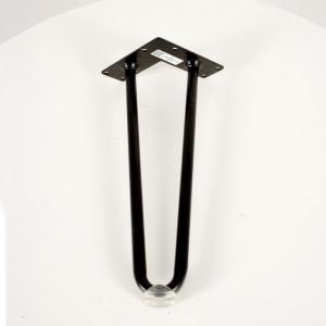 Hairpin D14 Cao 30cm ( 1 Chân ) Kèm Nút Nhựa Trong