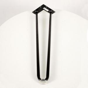 Hairpin D14 Cao 50cm ( 1 Chân ) Kèm Nút Nhựa Trong