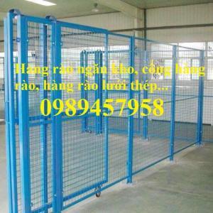 Sản xuất lưới hàng rào nhà kho, Lưới ngăn kho, Lưới bảo vệ máy móc