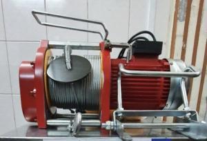 Máy tời điện nhanh , dây cáp dài 60m