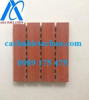 Gỗ tiêu âm soi rãnh, gỗ tiêu âm ứng dụng cao
