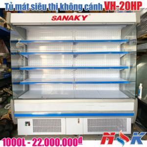 Tủ mát siêu thị không cánh Sanaky VH-20HP
