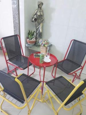 Bàn ghế cafe giá rẻ tại hồ chí minh HTT111