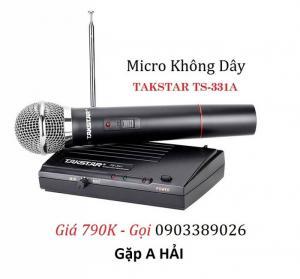 Micro không dây xa 100m Takstar TS-331A hàng chính hãng 100%