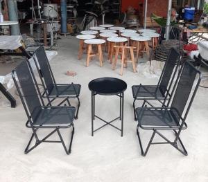 Bàn ghế cafe giá rẻ HTT221
