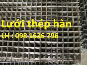 Giá lưới thép hàn A2, A3, A4, A5, A6,A7, A8, A10,A12 tốt nhất
