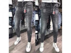 Quần jeans dài nam cao cấp rách waxMs412