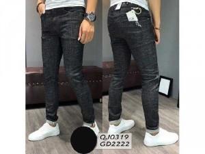 Quần jeans dài nam cao cấp rách wax 4163
