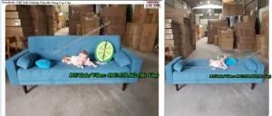 Ghế sofa giường nằm thông minh đa năng cực kỳ tiện dụng