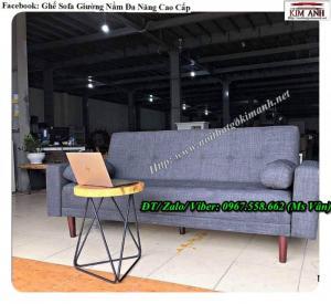 2020-09-25 09:46:10  2 Ghế sofa giường nỉ Ghế sofa giường nằm thông minh đa năng cực kỳ tiện dụng 4,400,000