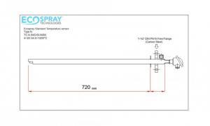 Cảm biến nhiệt Ecospray TC 1xN NiCrSi-NiSil