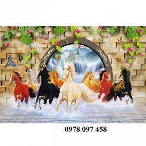 2020-09-25 20:25:26  1  Tranh ngựa - tranh gạch 3D 1,200,000