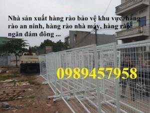 Khung hàng rào, Hàng rào ngăn kho, Hàng rào khung 1,5m x 2m, 1,2mx2m, 1,8mx2,5m