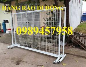2020-09-27 08:24:05  9  Sản xuất hàng rào khung di động, Hàng rào 1m5x2,5m, 1,8m, 2m, 2,2m 38,000