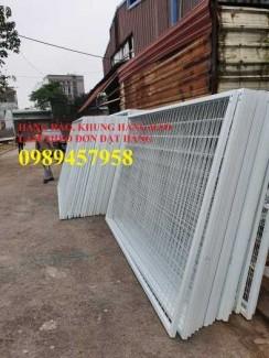 2020-09-27 08:24:05  8  Sản xuất hàng rào khung di động, Hàng rào 1m5x2,5m, 1,8m, 2m, 2,2m 38,000