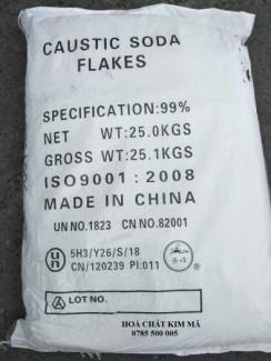 Bán CAUSTIC SODA FLAKE - NAOH - TQ