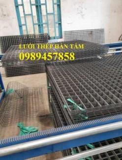 Sản xuất lưới thép hàn Phi 8 ô 200x200, A8 a 200x200, D8 a 200x200, Lưới đổ bê tông phi 8