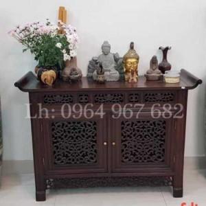 Tủ bàn huế trung đường bàn trưng bày đồ