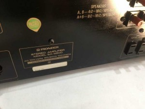 Chuyên bán ampli pionner SA8800 đẹp long lanh