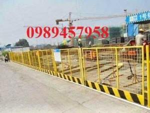 Gia công hàng rào khung di động, Hàng rào chắn công ty, Hàng rào ngăn kho sơn tĩnh điện