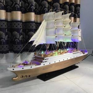 Thuyền buồm có đèn led dùng điện 220v