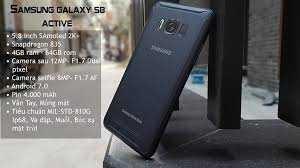 Samsung Galaxy S8 Active : Chống nước Chống va Đập