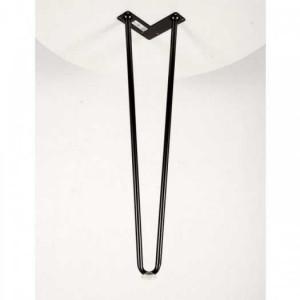 Hairpin D14 Cao 60cm ( 1 Chân ) Kèm Nút Nhựa Trong