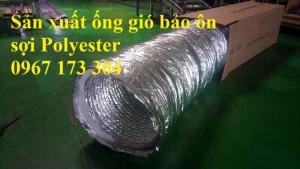 Ống vải có lõi thép dùng cho hệ thống thông gió D300, D350, D400,...
