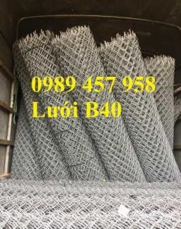 Sản xuất lưới B40 thép đen, Lưới b40 mạ kẽm, Lưới B40 bọc nhựa khổ 2m, 2,2m, 2,4m