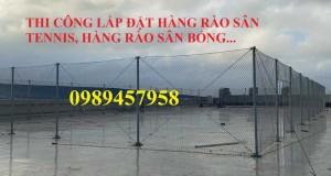 Lắp đặt hàng rào B40, hàng rào nhà kho, Vách ngăn kho B40 mạ kẽm, bọc nhựa tại Hà Nội